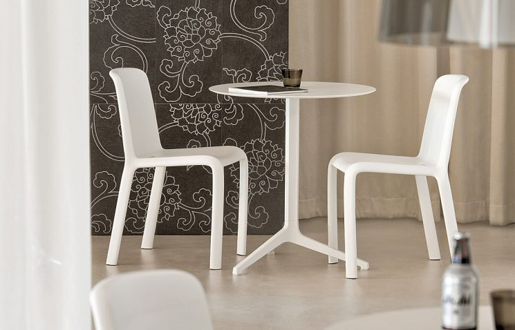 White Indoor Table