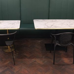 Cafe Tables White
