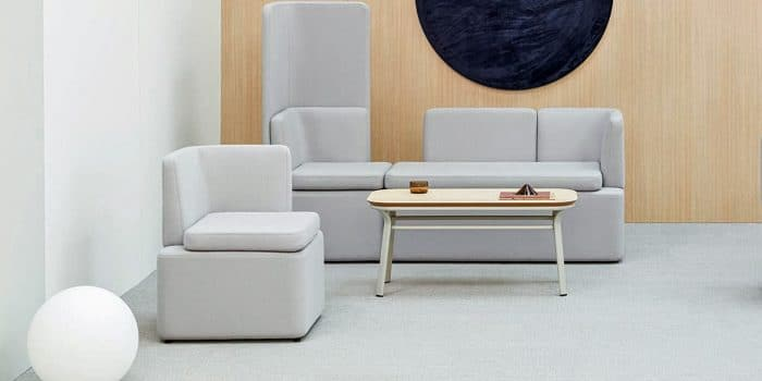 White Modular Seating