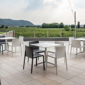 White Outdoor Table