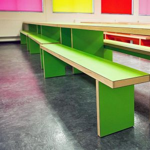 Why choose long canteen tables and benches for dining rooms?