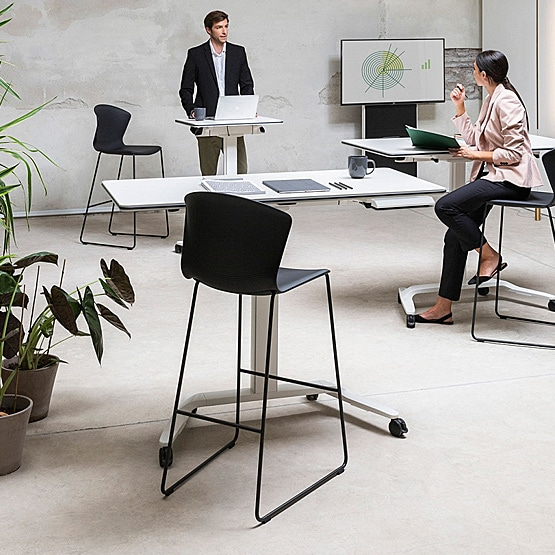 Why should employee-focused businesses invest in white standing desks?