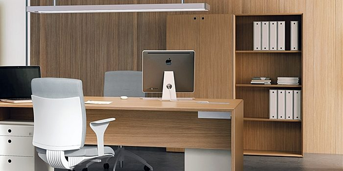 Wood Office Storage