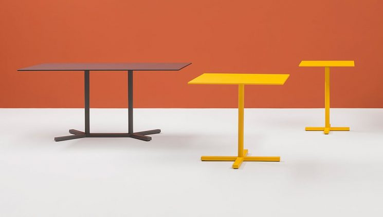 Yellow Cafe Table
