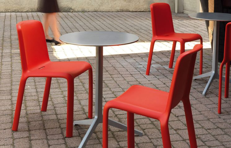 Silver Folding Table