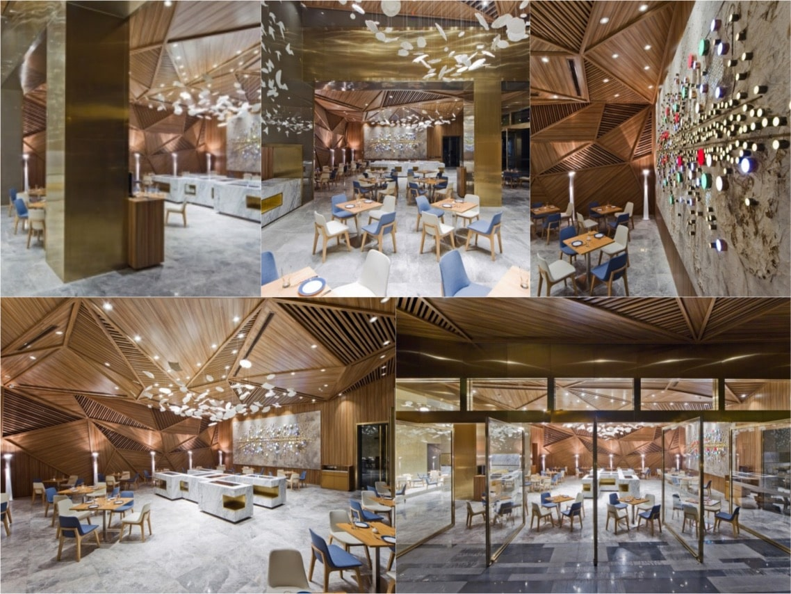Yue Restaurant Chengdu Luzury interiors spaceist blogpost