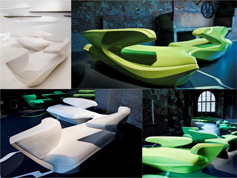 Zephyr sofa by Zaha-Hadid-Design