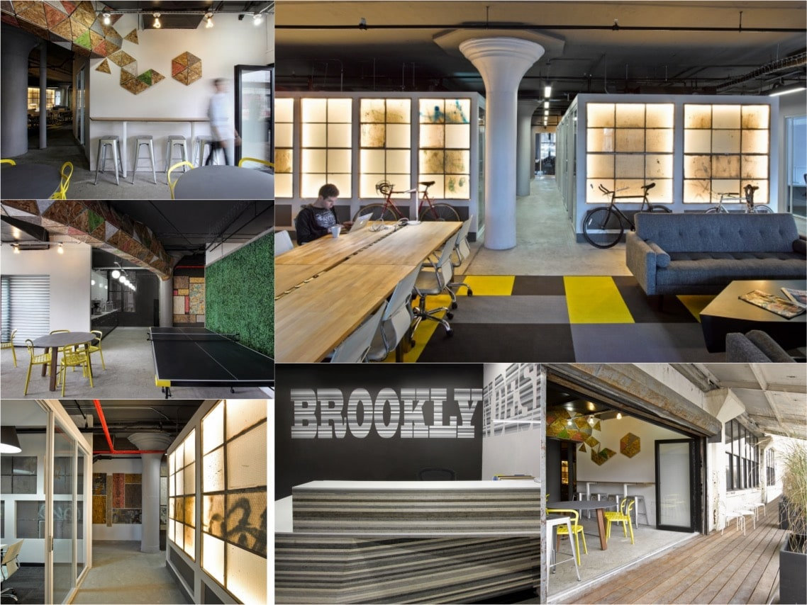 brooklyn desks office design cool offices spaceist blogpost
