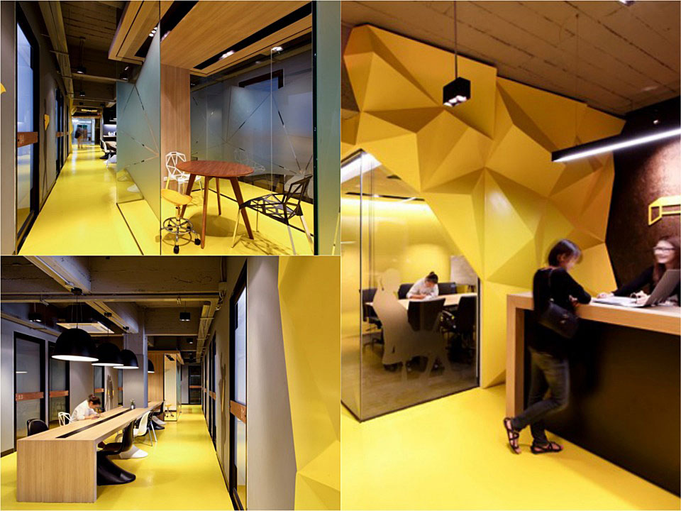 co-working flexible offices klique desk 1