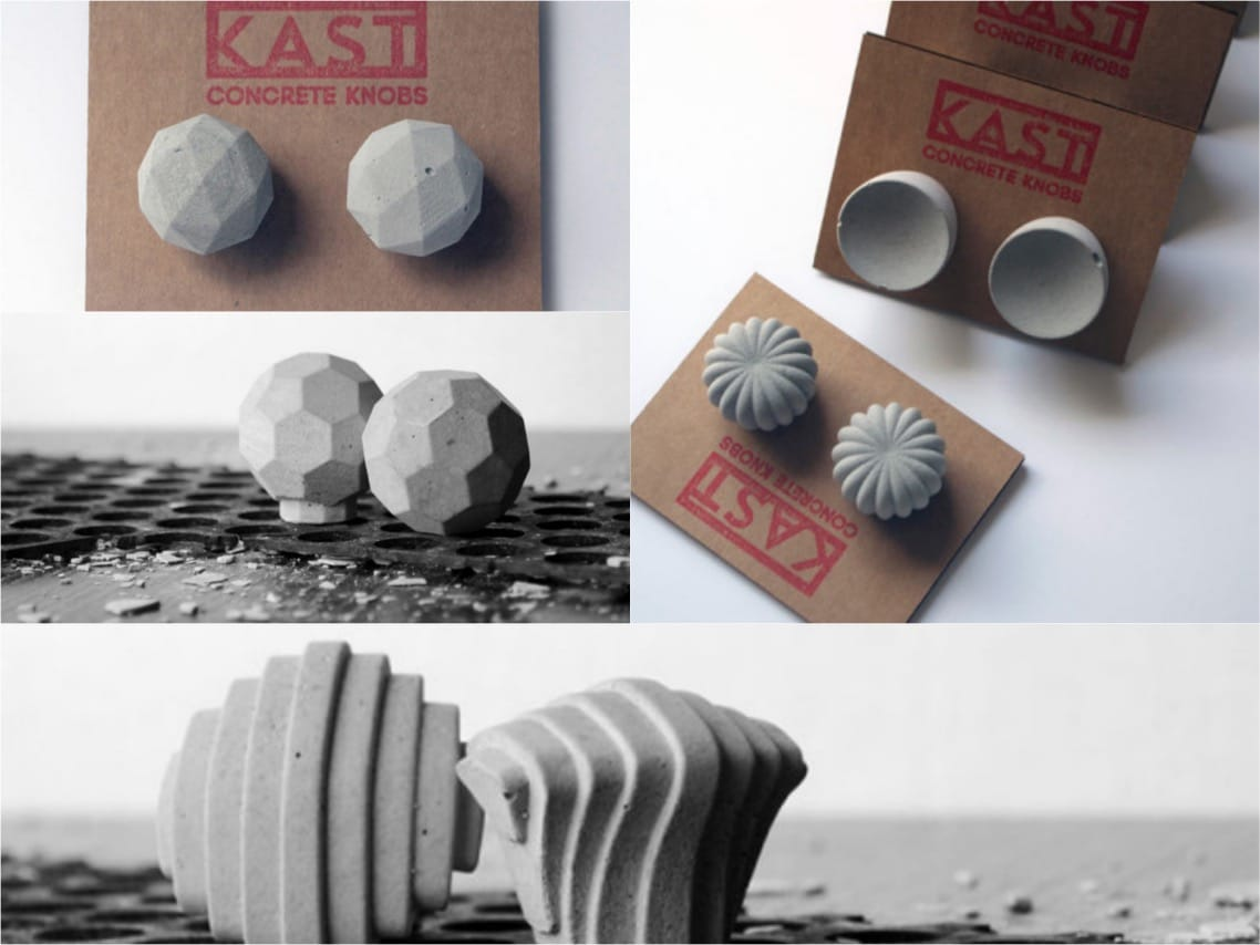 concrete KAST knobs spaceist blogpost