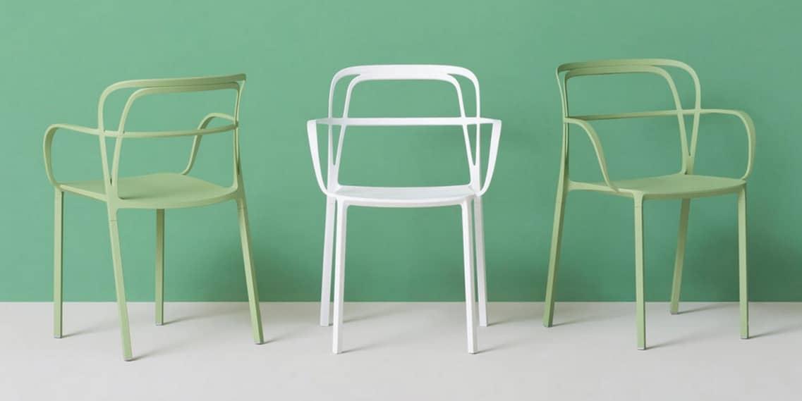 intrigo chair green white chairs spaceist blogpost