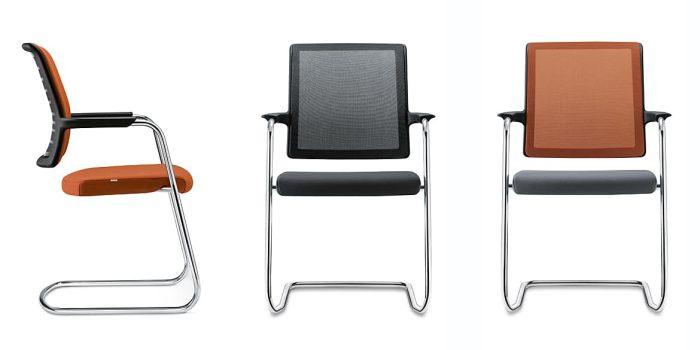 Mesh meeting chair