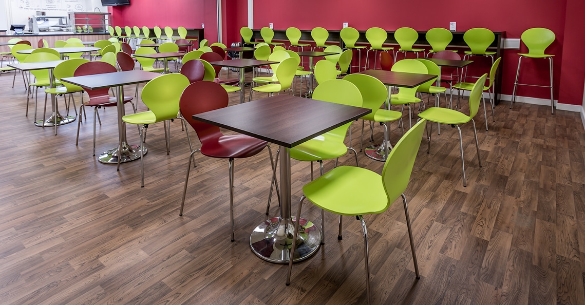 prine henry dark wood cafe tables
