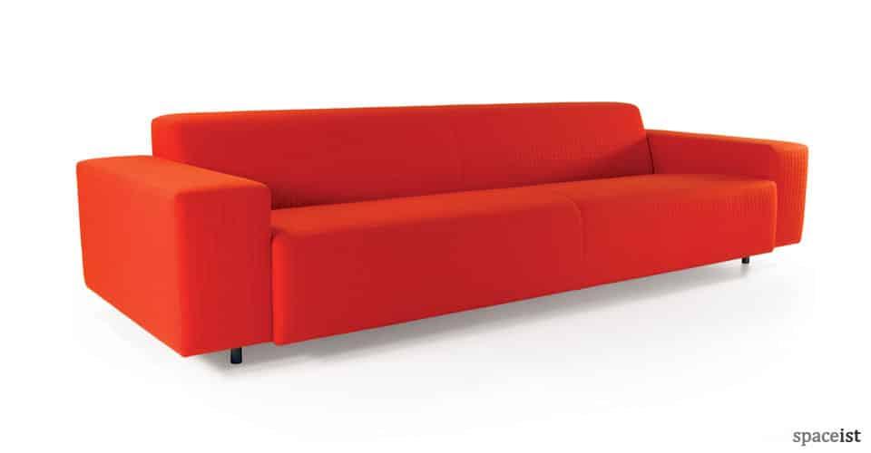 spaceist 17 retro orange bar sofa