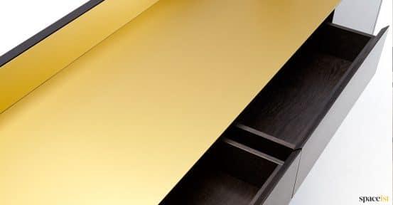 Brass closeup