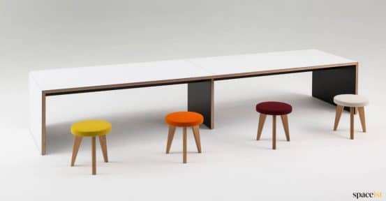 Long hard wearing table