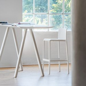 Ark standing white meeting table