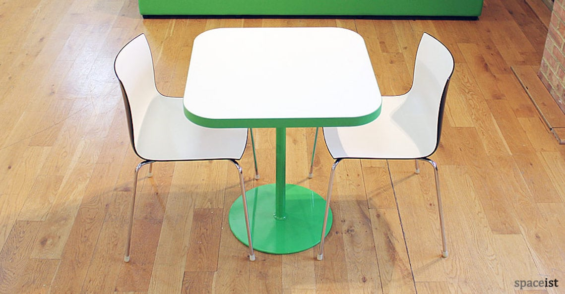spaceist edge square green base table