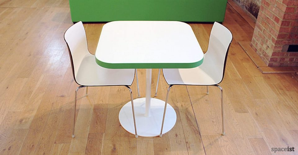 spaceist edge square green edge table