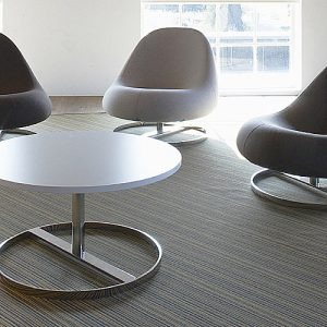 Grey flow library chairs