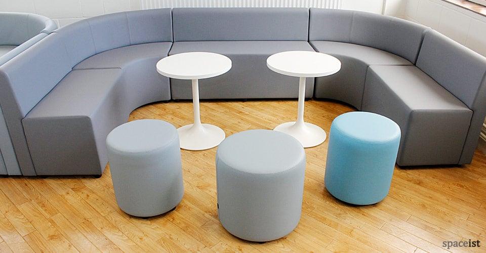 spaceist grey waiting room seating