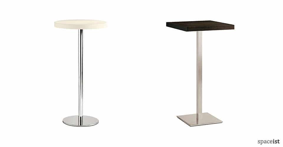 spaceist inox white walnut bar height tables 1