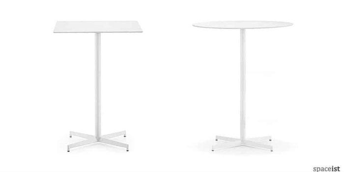 laj 110cm high round bar tables