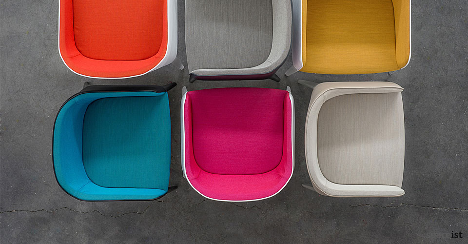 spaceist laja cantilever meeting chair colours