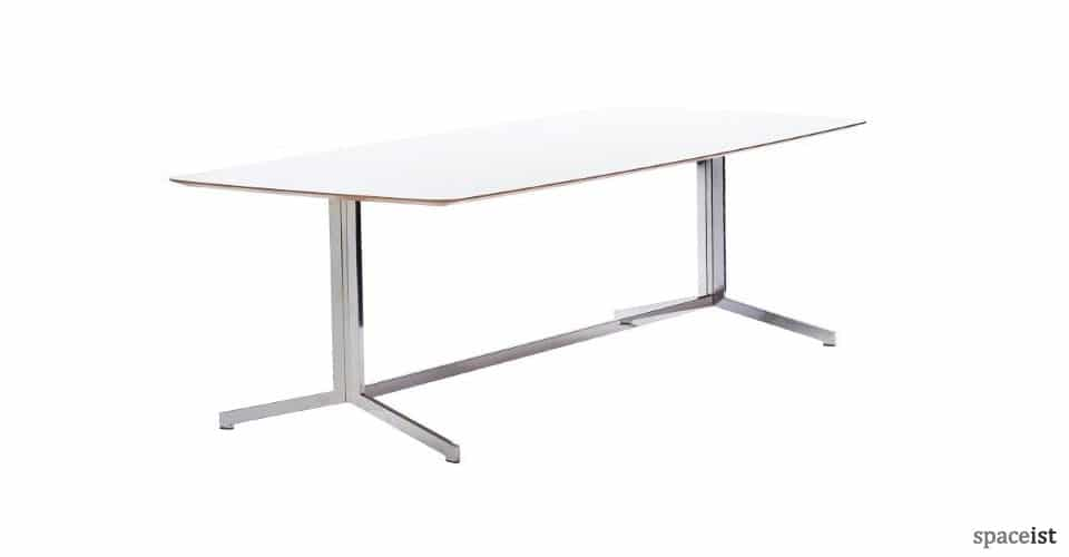 Madison white meeting room tables