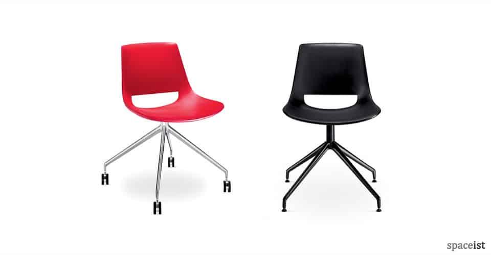 palm plastic star meeting chairs