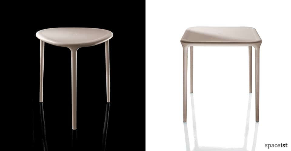 spaceist round air cafe tables