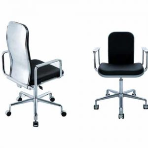 spaceist supporto leather meeting chairs