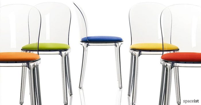 vanity plastic chairs