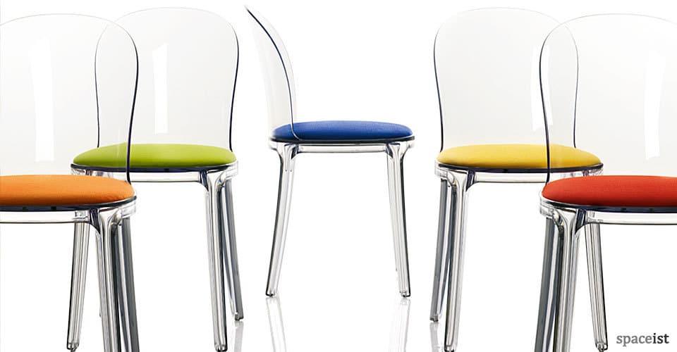 spaceist vanity plastic chairs
