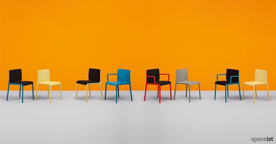 spaceist volt cafe chair orange 1