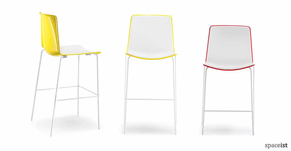 spaceist weet plastic bar stools
