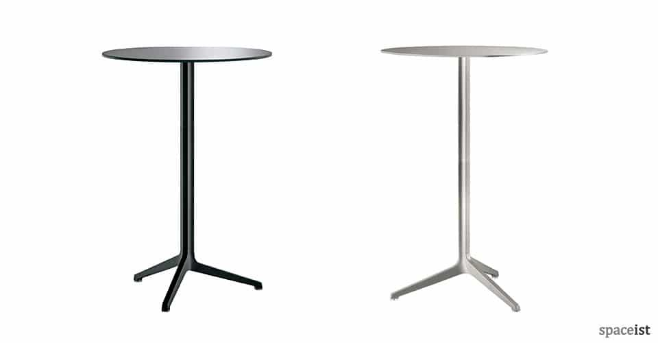 spaceist ypsilon black silver 110cm height tables