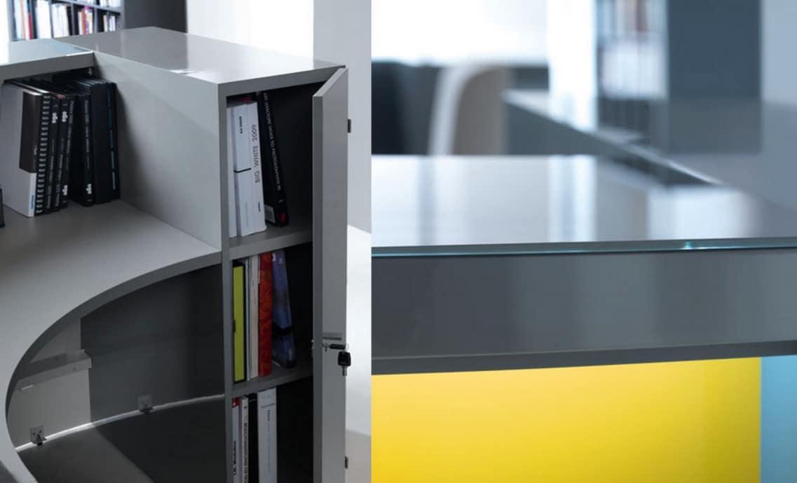 valde desk detail grey