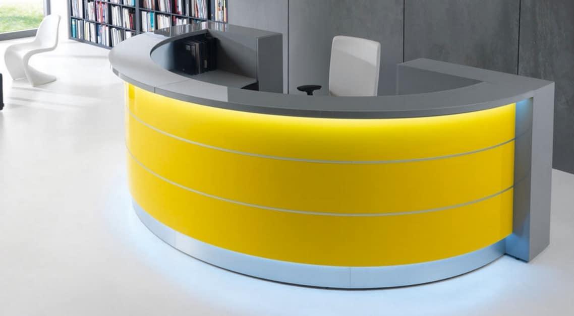 valde half circle desk yellow spaceist