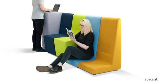 221 colourful low and high seating for laptop