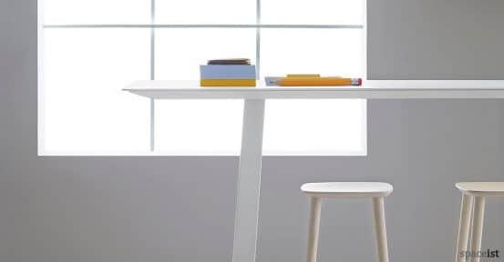 Babila solid wood stool