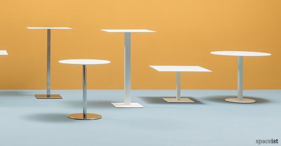 Inox cafe table range 2