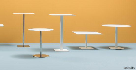 Inox cafe table range 2
