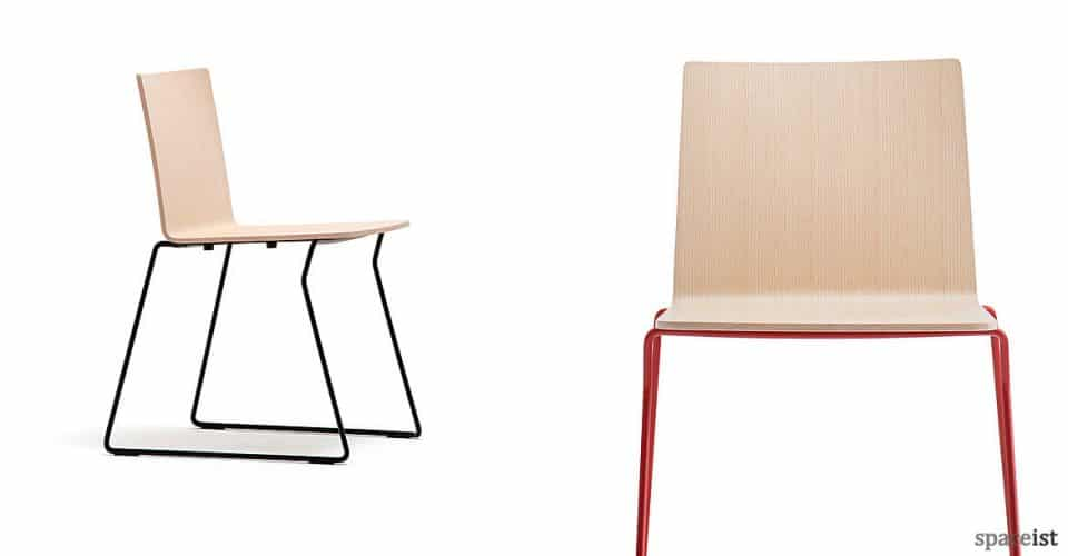 Saka industrial wood chair range