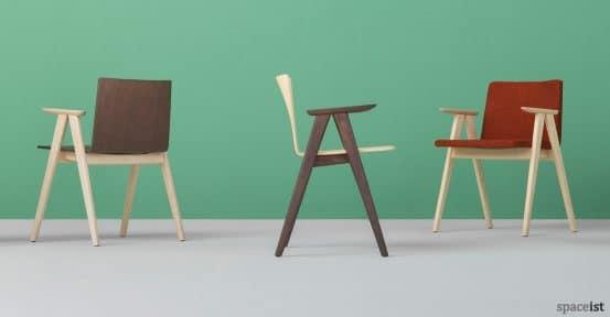 Saka wood chairs family