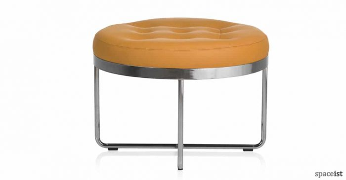 Shima reception seat with chrome frame