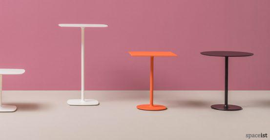 Stylus cafe table range
