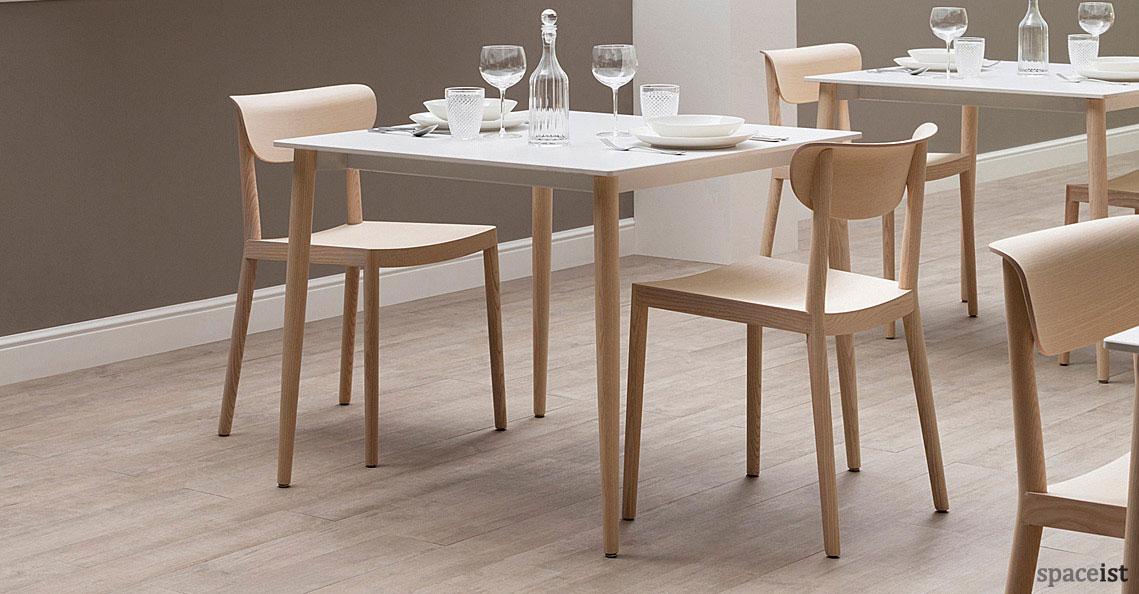 Cafe furniture tivoli wood chair new