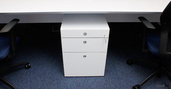 lee marley 45 under desk storage