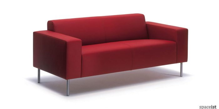 18 retro red bar sofa